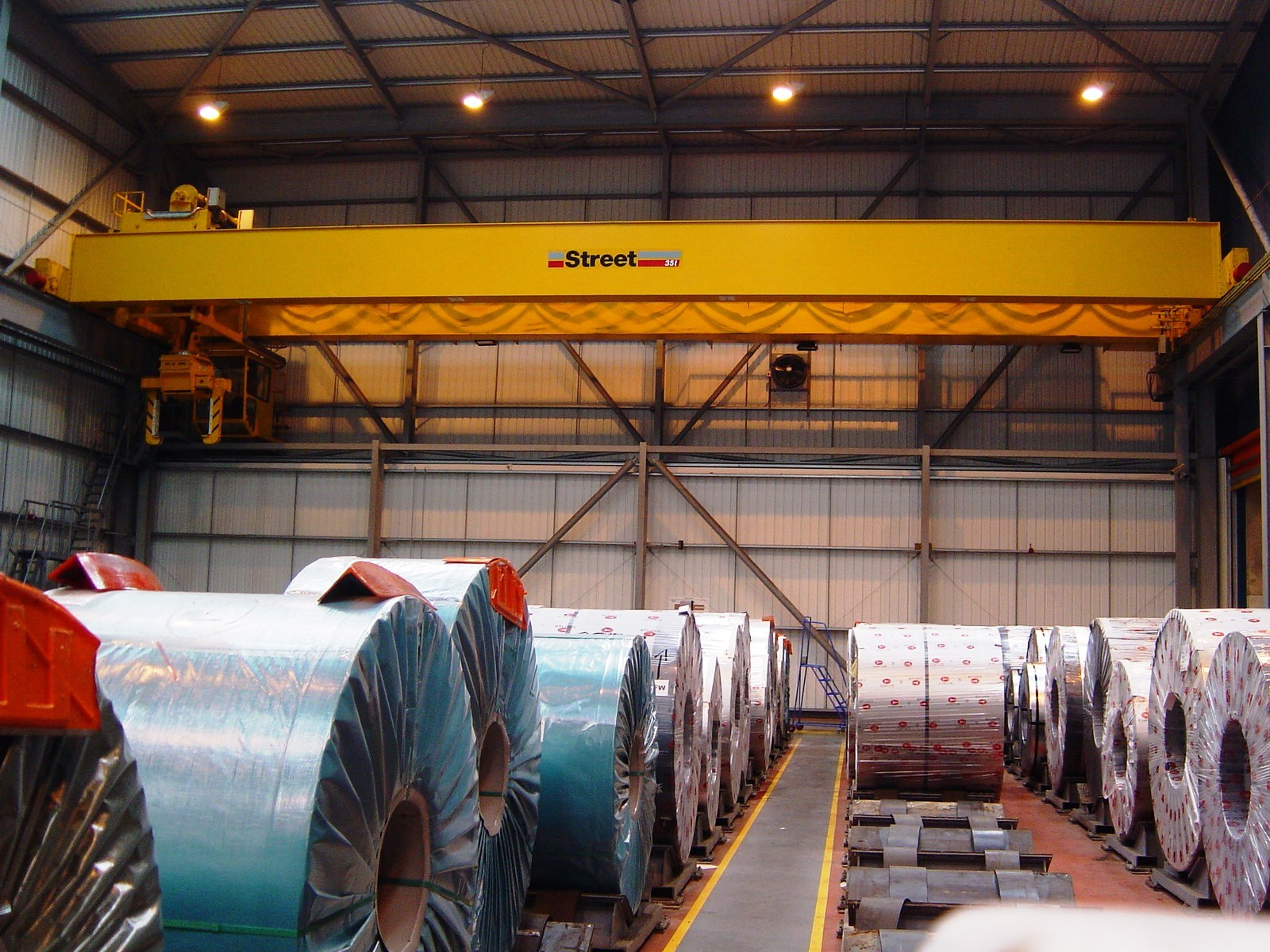 Steel Coil Distribution Warehouse (Remote Crane Control)