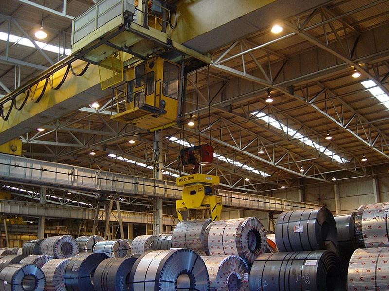 Steel Coil Distribution Warehouse (Remote Crane Control)