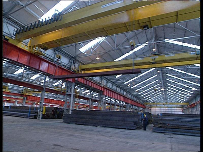 Steel Distribution Warehouse (Remote Crane Control)