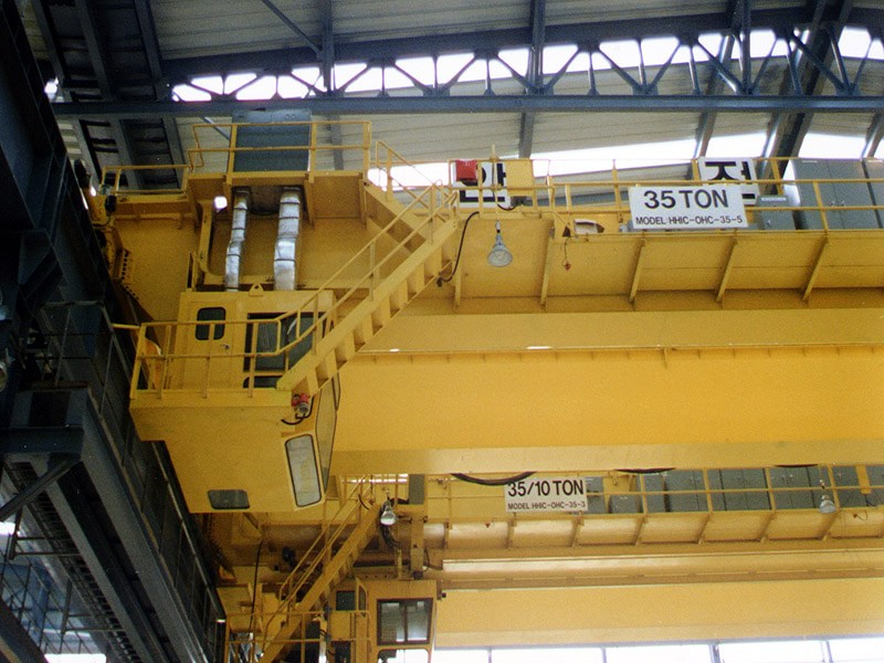 Steel Plant (South Korea) (Remote Crane Control & Crane Detection)
