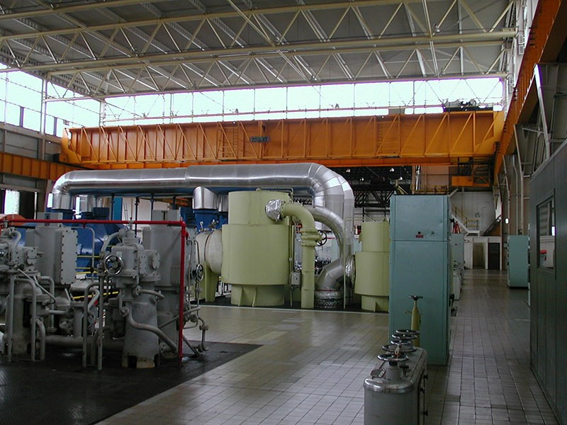 Nuclear Power Station Turbine Hall (Electrical Crane Refurbishment)