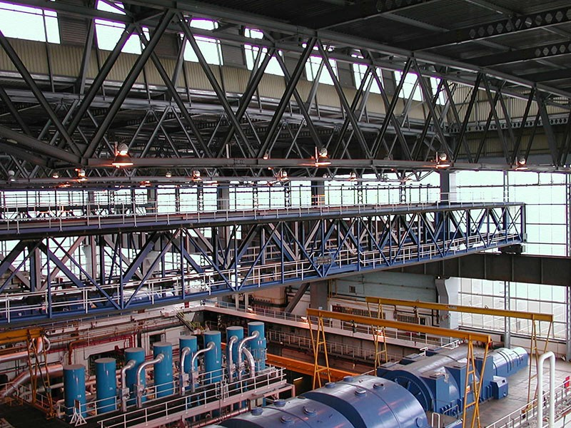 Power Station Turbine Hall (Crane Refurbishment)