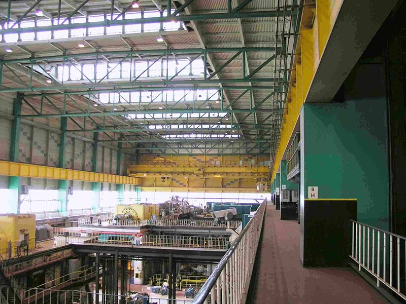 Power Station Turbine Hall (Remote Crane Control)