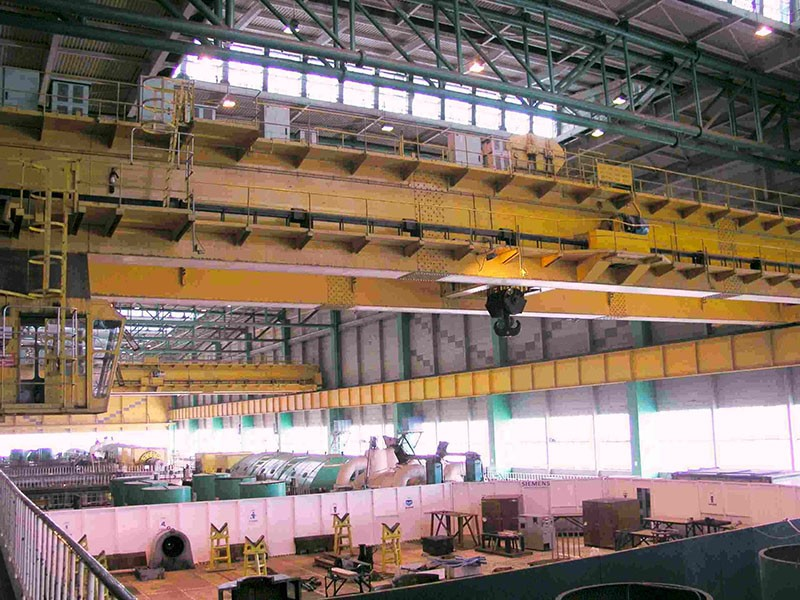 Power Station Turbine Hall (Remote Crane Control)