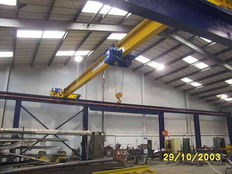 Steel Fabricator (Remote Crane Control with XBDataTM )
