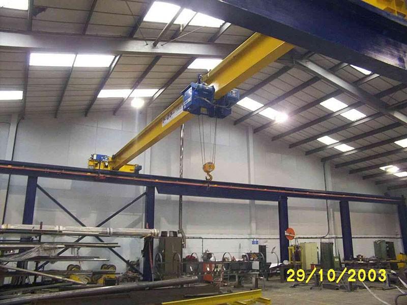 Steel Fabricator (Remote Crane Control with XBDataTM )