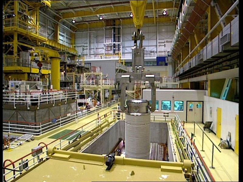 Nuclear Reactor Crane Control Panels