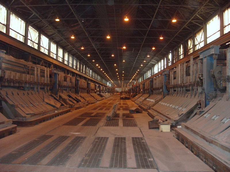 Aluminium Smelter Pot Room (Crane Detection)