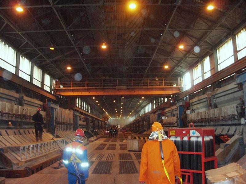 Aluminium Smelter Pot Room (Crane Detection)