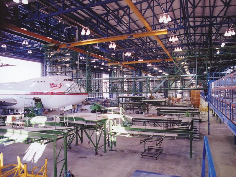 Aircraft Maintenance Hanger (Remote Control of Access Platforms)