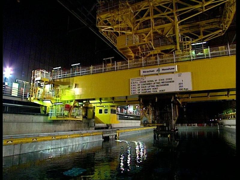 Nuclear Fuel Processing Cooling Ponds Crane Control Panels