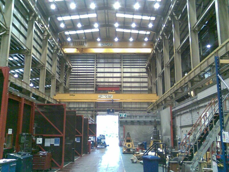Off Shore Oil & Gas Subsea Component Manufacturer UK (Vertical & Horizontal Crane Detection Scheme)