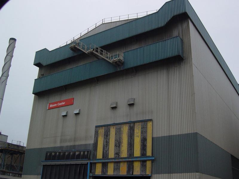 Steel Processing Plant (Crane Detection)