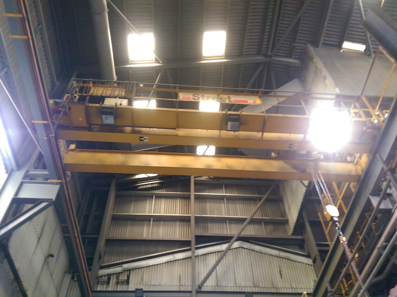 LEAD RECLAMATION PLANT REVIBE 10 TON CRANE 2